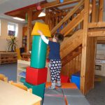 Foto: C. Gerth - Turmbauen in der Arche Noah
