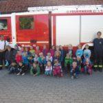 Foto: C. Gerth - Besuch bei der Feuerwehr
