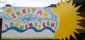 Foto: E. Schöler - Eingang KiTa Sonnenstern in Schinkel