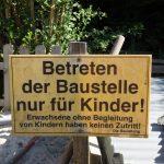 Foto: E. Schöler - Baustelle nur für Kinder